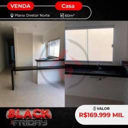 Casa em Black Friday na 604 Norte 169.999 2/4 snd uma suíte