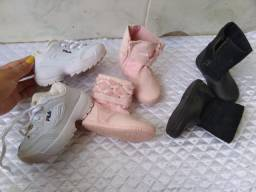 Bota e sapato promoção