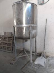 Vendo Tanque de Inox para Tintas