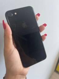 Título do anúncio: iPhone 7 128GB jet black