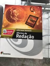 Livro -  Moderna (Vereda Digital) - Oficina de Redação