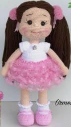 Bonecas de crochê amigurumi e diversos