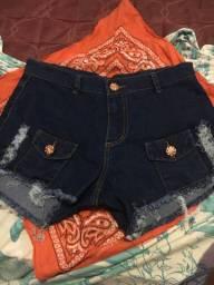 Shorts jeans usado 1 vez