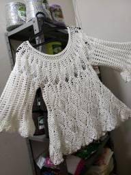 Blusa de Frio - Crochê