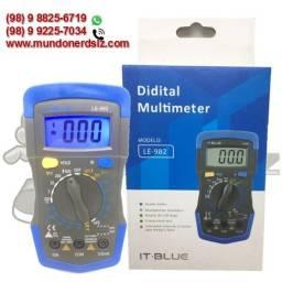 Multímetro Digital Semi Profissional It-Blue LE-982 em são luis ma