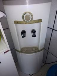 Gela água de coluna