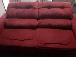 Sofá retrátil e reclinável 3 e 2 lugares