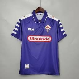 Camisa Fiorentina Retrô Nintendo