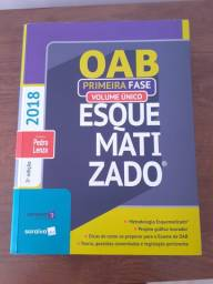 OAB Esquematizado 1ª Fase - Volume Único - 2018