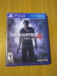 Jogo ps4 uncharted 4