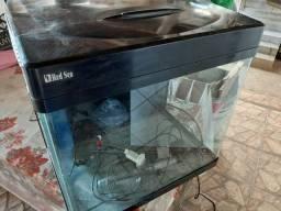 Aquario marinho 12 x R$100,00 RedSea MAX 130D