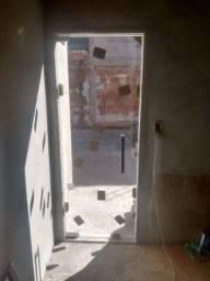 Portas de vidro temperado 8mm incolor