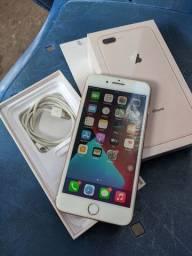 iPhone 8 Plus Rose Gold Passo Cartão e Aceito Trocas