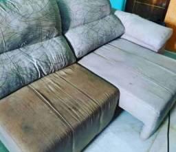 Lavagem e higienização de sofá ar seco