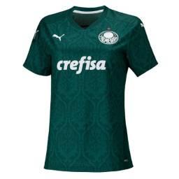 Camisa Feminina Palmeiras Home 2020 / 2021