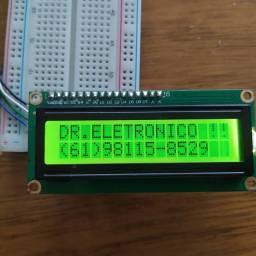 Display lcd16x2 com módulo i2c