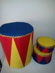 3 picadeiros circo
