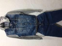 Conjuntinho Jeans