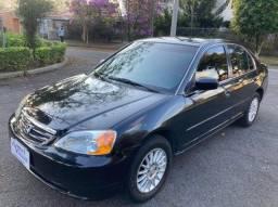 Honda Civic LXL 1.7 Automático Com 102.000 km 2003 Raridade!!
