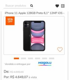 iPhone 11 Apple 128 GB preto