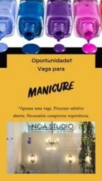 Oportunidade de emprego para manicure