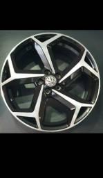 Título do anúncio: Rodas modelo Golf aro 18 fur. 5x100 novas #até 10x de R$310,00 no cartão de crédito