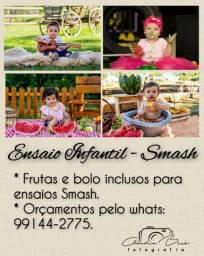 Título do anúncio: Ensaio Infantil - Smash