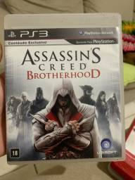 Assasins Creed Brotherhood - PS3 mídia cd