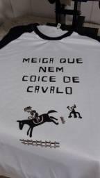 Título do anúncio: Camisas Personalizadas Frases