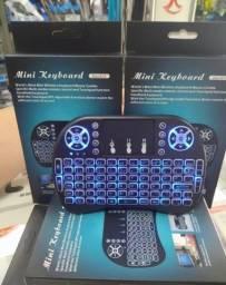 Mini teclado sem fio para Smart Tv