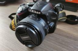 Nikon D3200 + Lente 35mm f2