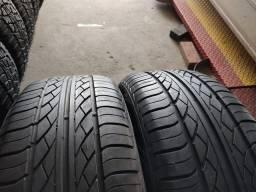 2 pneus 235/55 R17 semi novos!!(550$ até 6x sem juros no cartão)