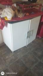 Microondas e armário pra Cook 4 bocas