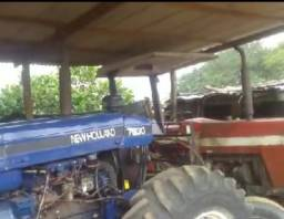 Trator New Holland turbinado ano 1997