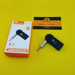 Adaptador Bluetooth ( Recarregavel ) P2 - Auxiliar