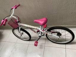 Bicicleta Caloi Cecília aro 16 menina