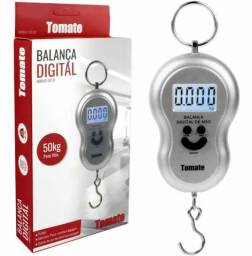 Mini Balança  Digital gancho Tipo Peixeiro pesa até 50 kg excelente precisão