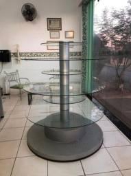 Gôndola Redonda de vidro