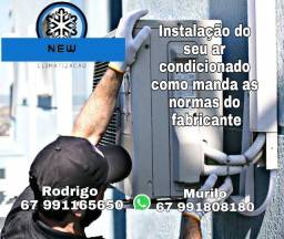 Título do anúncio: Instalação de ar-condicionado!!!!