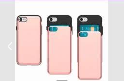 Case/capinha para iPhone com porta cartão embutido