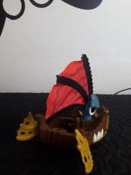 Título do anúncio: Navio Pirata Imaginext - Usado