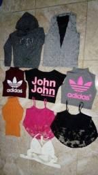Lote roupas adolescente
