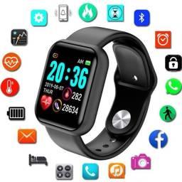 Título do anúncio: Smartwatch Relógio Inteligente Barato Pronta Entrega