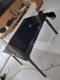 Mesa vidro + cadeiras