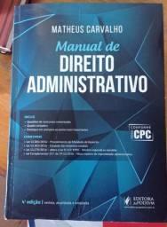 Manual de Direito Administrativo - Matheus Carvalho - 4º Edição - Jus Podivm