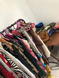 Lote de roupas para revenda brechó