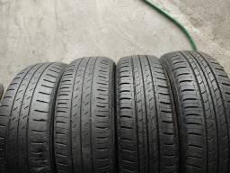 4 pneus 185/60 R15 bridgestone!!(850$ até 6x sem juros no cartão)
