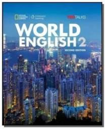 Livro de inglês intermediário - World English 2b Combo Split With Cd-rom - 2nd Ed