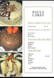 Promoção Mini Bolo VULCÃO R$15,00
