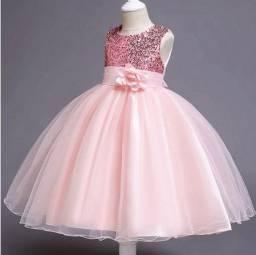 Rose Vestido de Festa Infantil